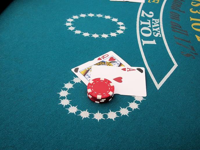 Blackjack. Ako hrať blackjack.