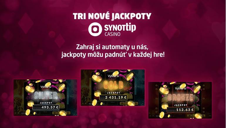 SYNOT TIP Casino JACKPOT