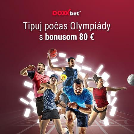 Olympiáda 2021 bonus 80 EUR